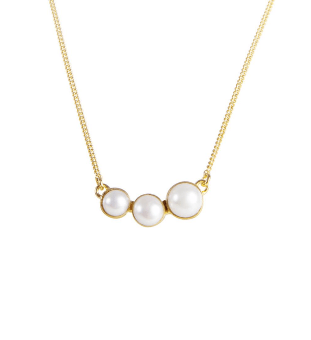 Fairley Pearl Cascade Necklace