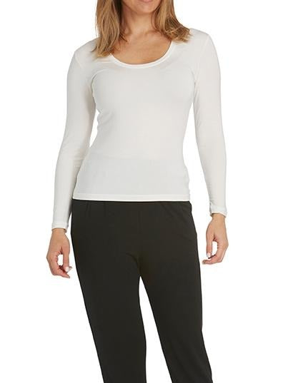 Tani Scoop Neck Long Sleeve Top - Impulse Boutique