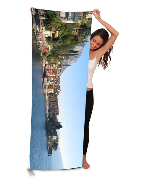 The Artists Label Lake Como Yoga/Beach Towel