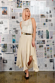 M.A. Dainty Post Silk Skirt - Impulse Boutique