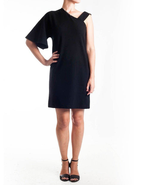 Mela Purdie Arrow Shoulder Dress - Impulse Boutique