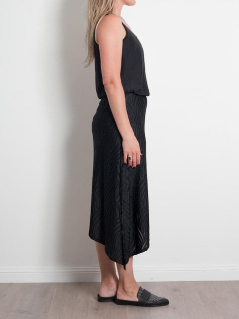 Mela Purdie Spear Skirt Devore Velvet - Impulse Boutique