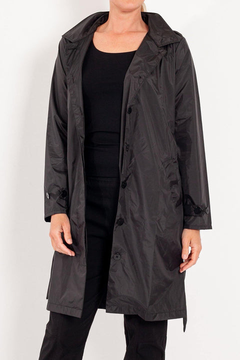 PAQME Recycled Trench Raincoat