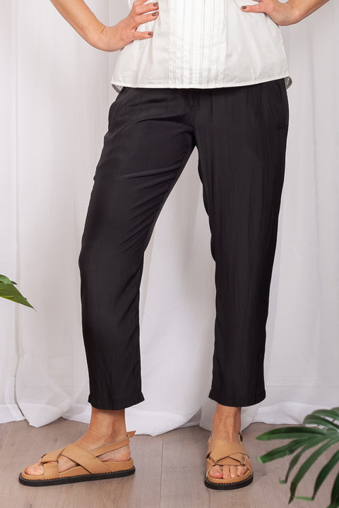 Mela Purdie Tie Pant Microprene - Impulse Boutique