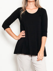 Mela Purdie Relaxed Loose Top Jersey - up to size 20 - Impulse Boutique