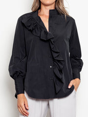 Mela Purdie Sweetheart Blouse Cotton Memory