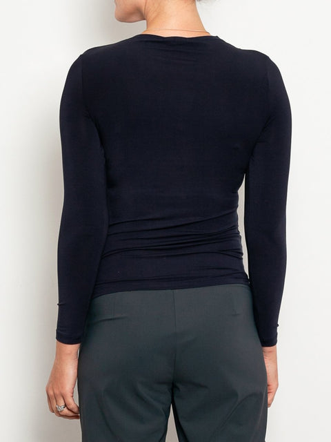 Tani High Neck Long Sleeve Micromodal Top - Impulse Boutique