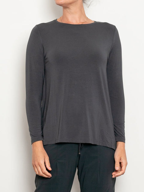 Tani Micromodal Swing Long Sleeve Top - Impulse Boutique