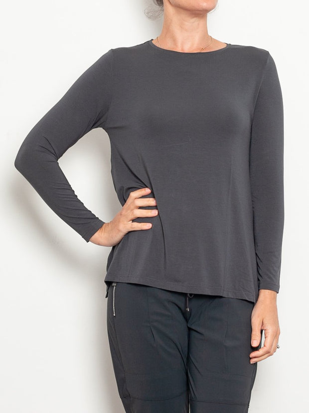 Tani Micromodal Swing Long Sleeve Top