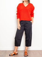 Mela Purdie Cropped Tuscan Pant Microprene - Impulse Boutique