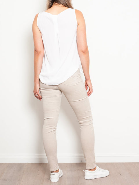 Vassalli Fine Corduroy Leggings - Impulse Boutique