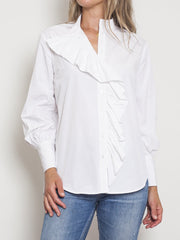 Mela Purdie Sweetheart Blouse Cotton Memory - Impulse Boutique