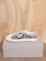 D.O.F. Indiana Snake Lilac Sneaker - Impulse Boutique
