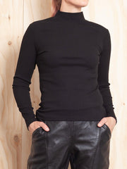 Ena Pelly Long Sleeve Rib Top