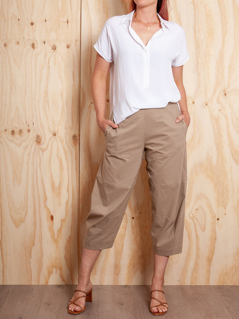 Mela Purdie Cropped Tuscan Pant Microprene PRE ORDER NEW COLOUR