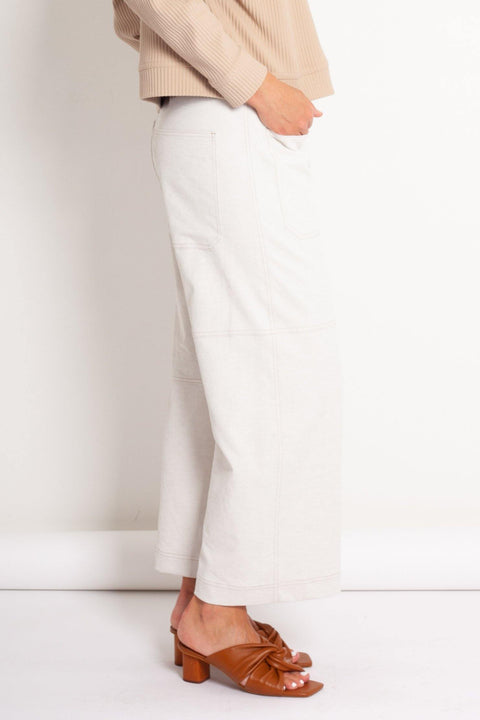 Mela Purdie Quarter Panel Pant Polished Canvas