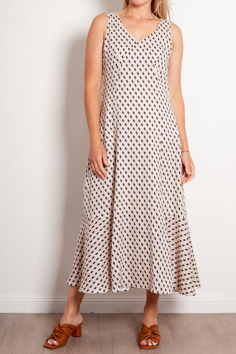 POL Straws Midi Dress