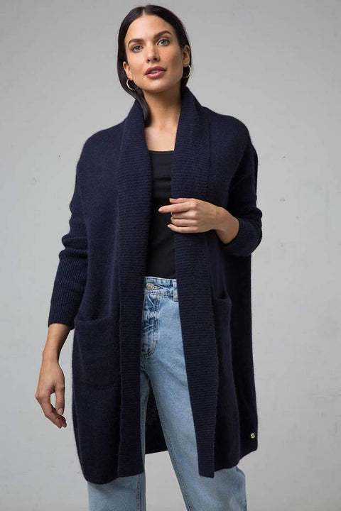 Mia Fratino Cassie Oversized Luxury Cashmere Cardi - Impulse Boutique