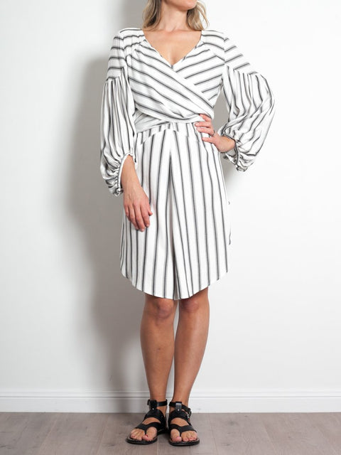 Once Was Athena Wrap Dress - Impulse Boutique