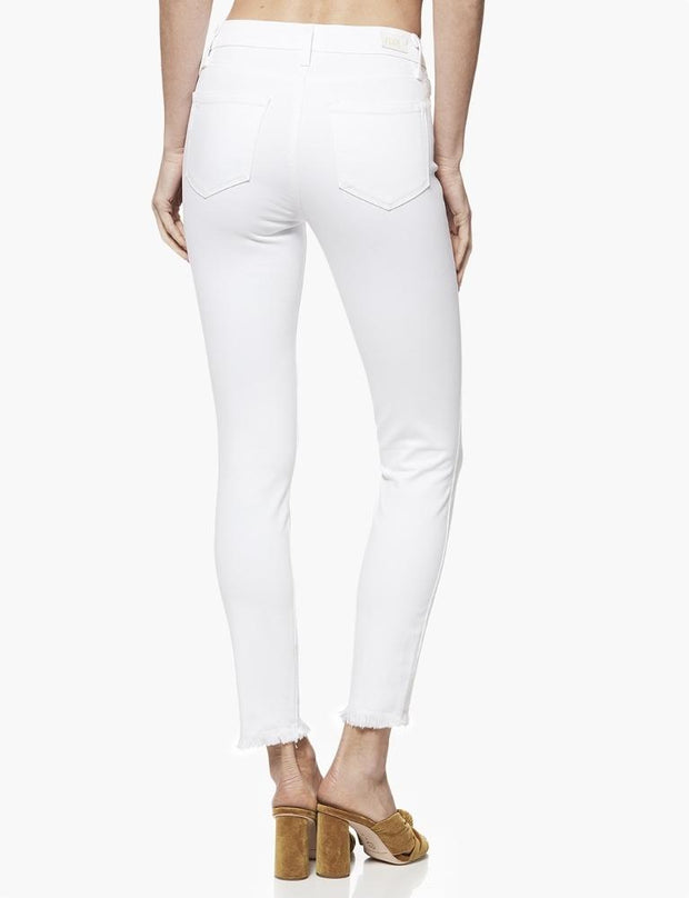 Paige Hoxton Ankle Jean White - Impulse Boutique