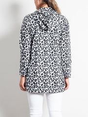PAQME Anyday 3/4 Raincoat Geo Leopard - Impulse Boutique