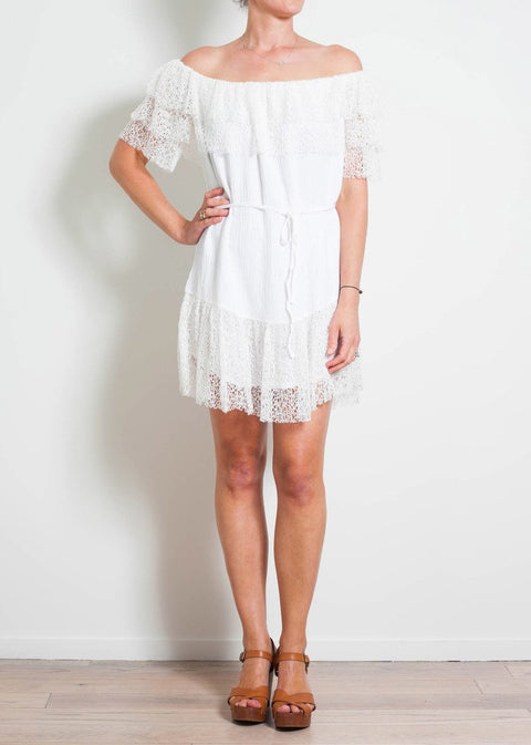 SUBOO Days Like These Off Shoulder Dress - Impulse Boutique