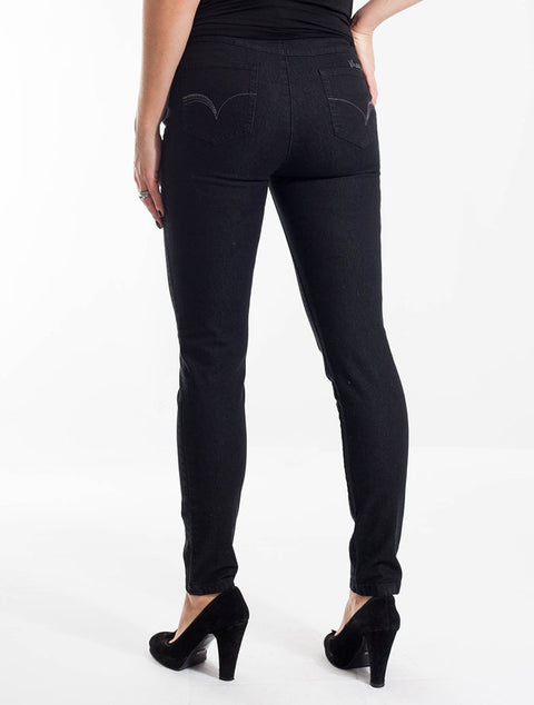 Vassalli Slim Pull On Jean - Impulse Boutique