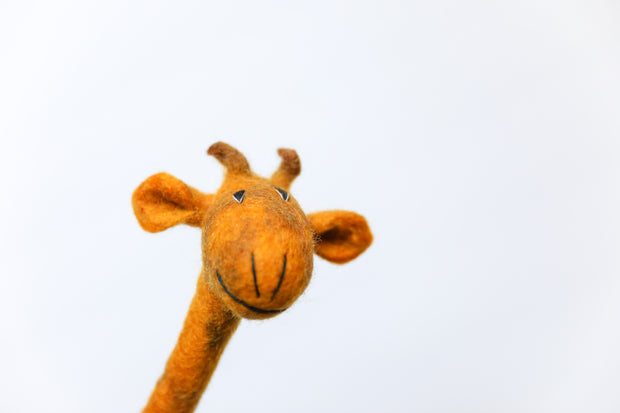 FELTED ANIMAL PENCIL TOPPERS
