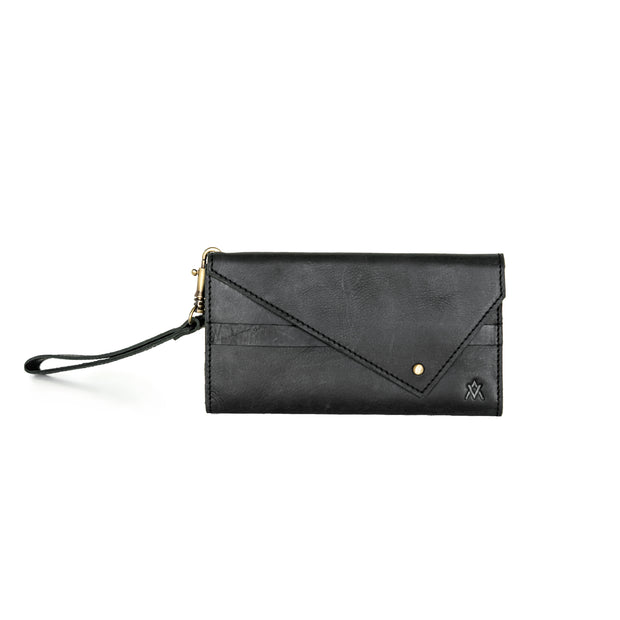 TRIFOLD LEATHER WOMEN'S WALLET