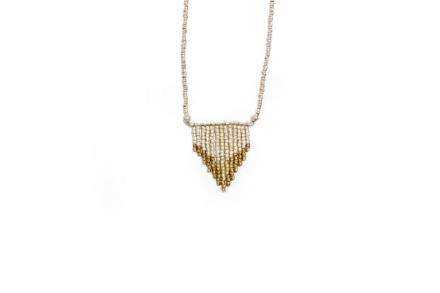 OMBRE ARROW ARTILLERY NECKLACE