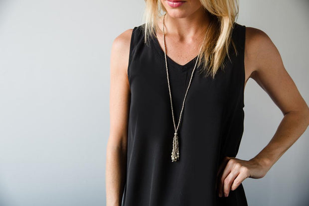 ARTILLERY TASSEL NECKLACE