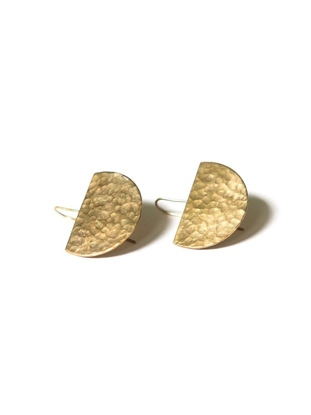 BRASS BASIN EARRINGS