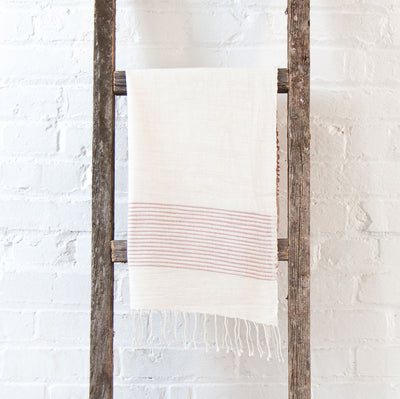 RIVIERA BLUSH HAND TOWEL