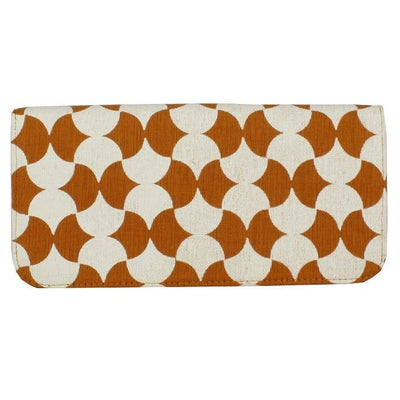 ORANGE TILE LONG WALLET