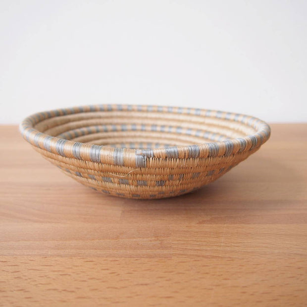 MOON STONE SMALL SISAL BOWL