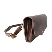 LEATHER BELT-BAG + CROSSBODY