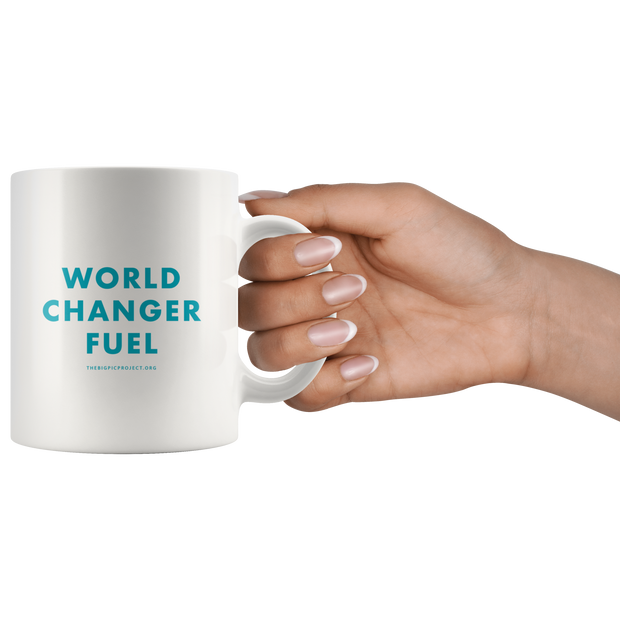 WORLD CHANGER FUEL COFFEE MUG