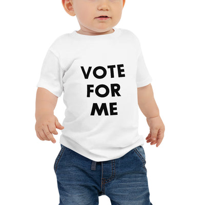 VOTE FOR ME Baby Jersey Short Sleeve Tee