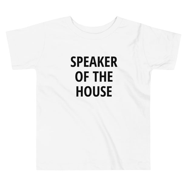 SPEAKER OF THE HOUSE - Toddler Short Sleeve Tee