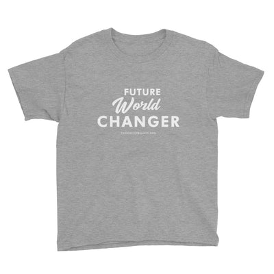 FUTURE WORLD CHANGER Youth Short Sleeve T-Shirt