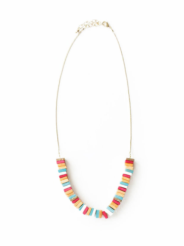 CONEY ISLAND CANDY COLORED NECKLACE