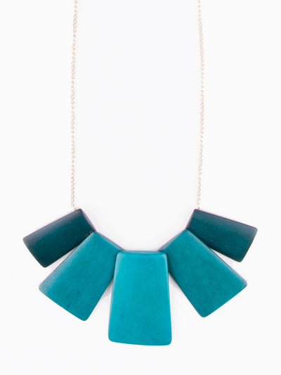TEAL VOYAGER NECKLACE