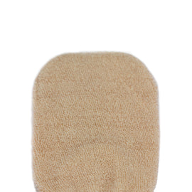 Tan Cotton Polishing Mitt