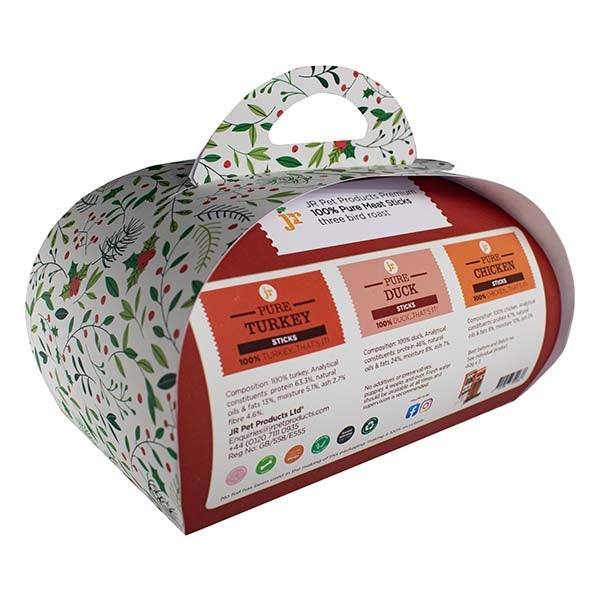JR Pet Three Bird Roast Mini Christmas Hamper