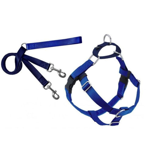 2Hounds Design Freedom No-pull Harness & Leash - Royal Blue