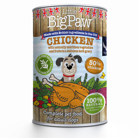 Little Big Paw Naturally Delicious Chicken 390g