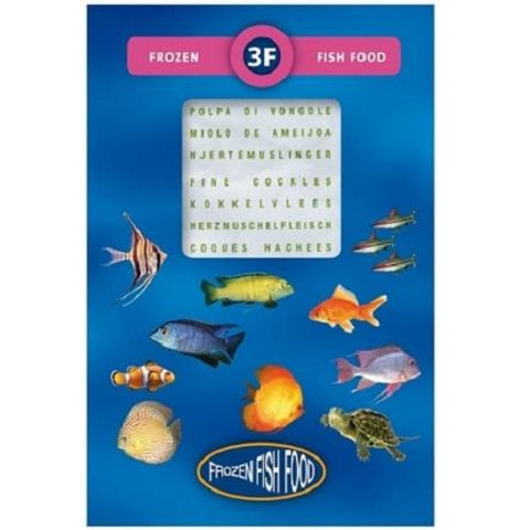 3F Frozen Cockle Meat Fishfood 95g - Fish Food