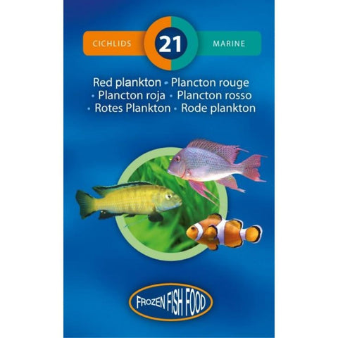 3F Frozen Red Plankton Fish food 95g - Fish Food