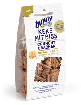 Bunny Nature Crunchy Cracker Mealworm & Cheese