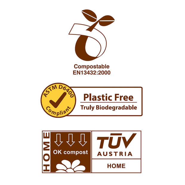 Bags On Board 100% Biodegradable Waste Pickup Bags (140 bags)